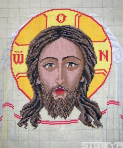 Crafts: Mom's Jesus Icon