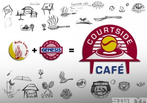 Courtside Café Logo