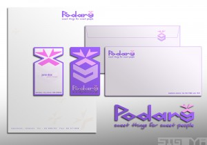 Podary Logo & Stationary