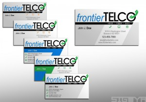 FrontierTELCO Business Cards