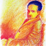Thumbnail image for Illustration: Khalil Gibran Tri-Panel