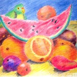 Thumbnail image for Illustration: Colored Pencil Studies