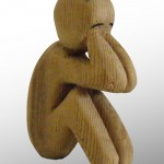 "Thumbnail image for Sculpture: ""Solo"" – Wood"