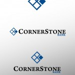 Thumbnail image for Redesign This: CornerStone Bank Logo